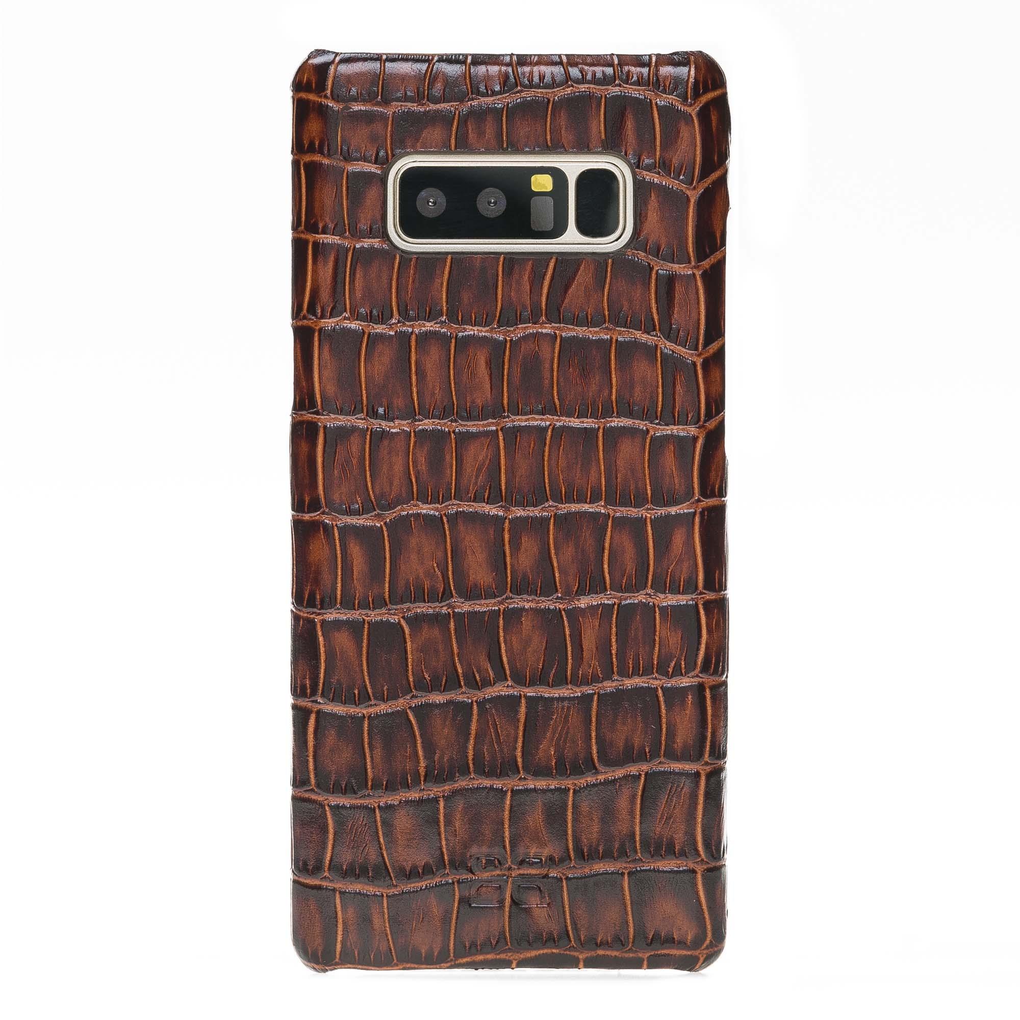 Чехол Ultimate Jacket Bouletta Коричневый YK06 для Samsung Galaxy note 8