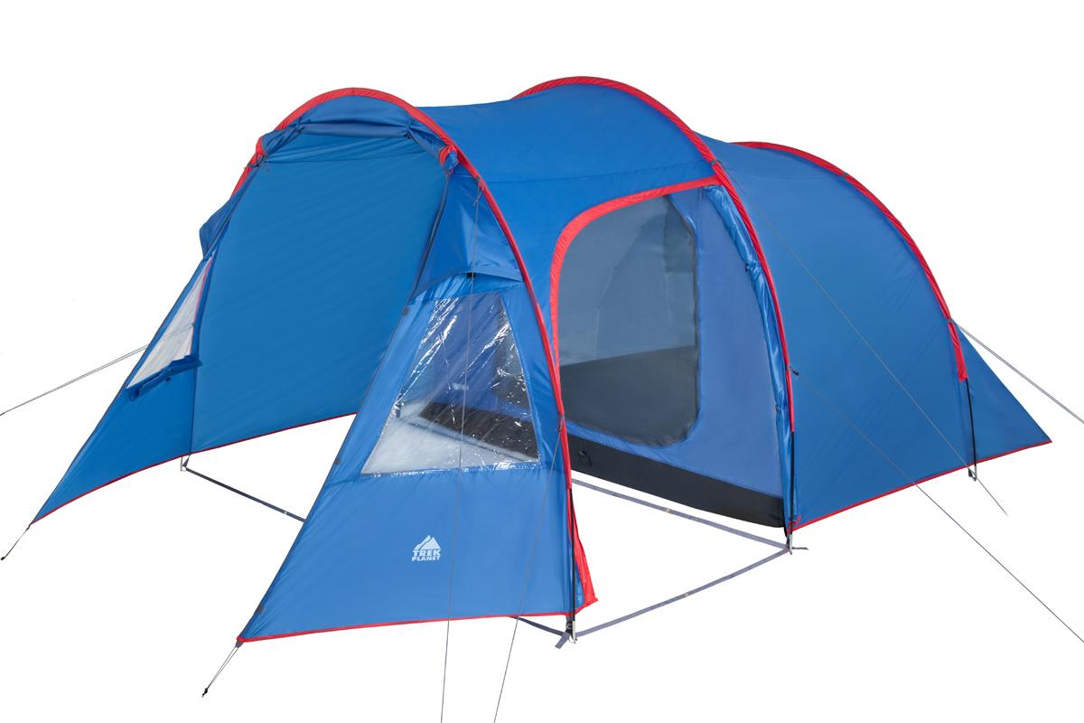 Палатка Trek Planet Trento четырехместная синяя