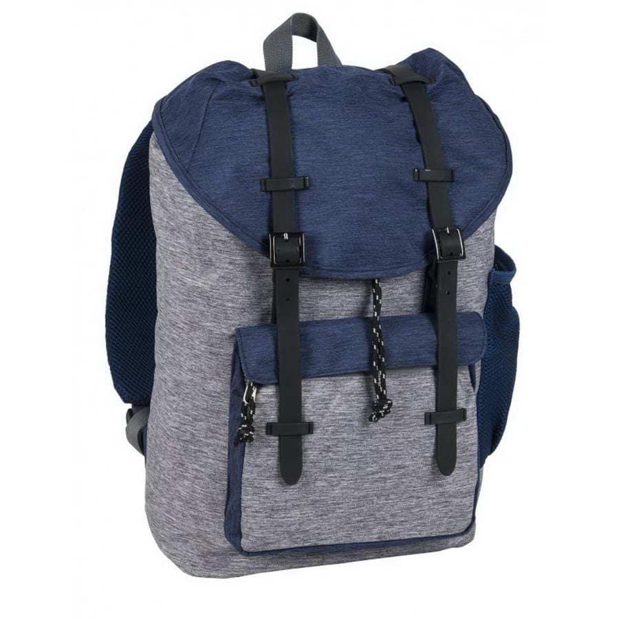 Рюкзак детский PASO City blue melange