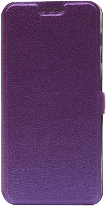 Чехол GOSSO CASES Book Type UltraSlim для Samsung Galaxy A8 (2018) фиолетовый