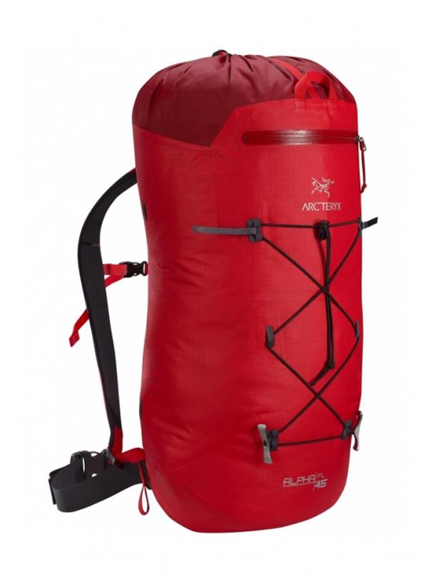 Туристический рюкзак Arcteryx Alpha FL 45 л красный