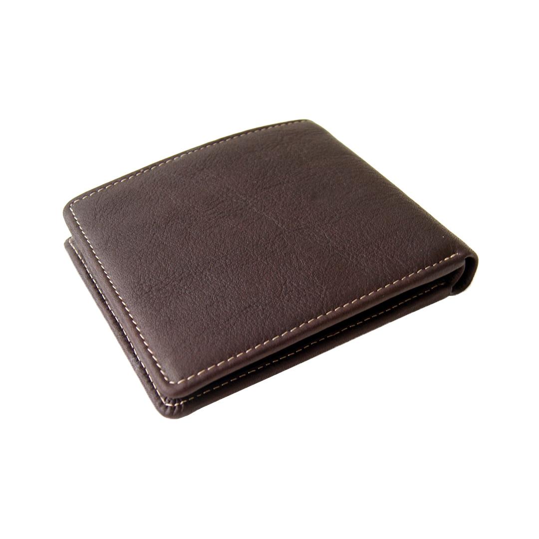 Коричневый кошелек из натуральной кожи Bufalo WLJ-10