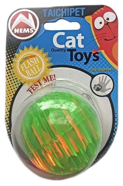 Игрушка для кошек Nems Мяч резиновый светящийся