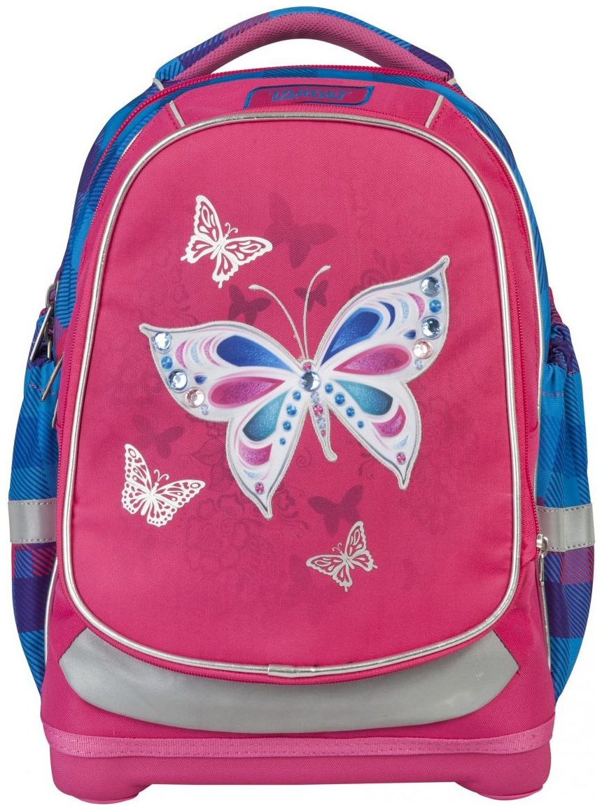 Рюкзак детский Target супер легкий Бабочка розовый
