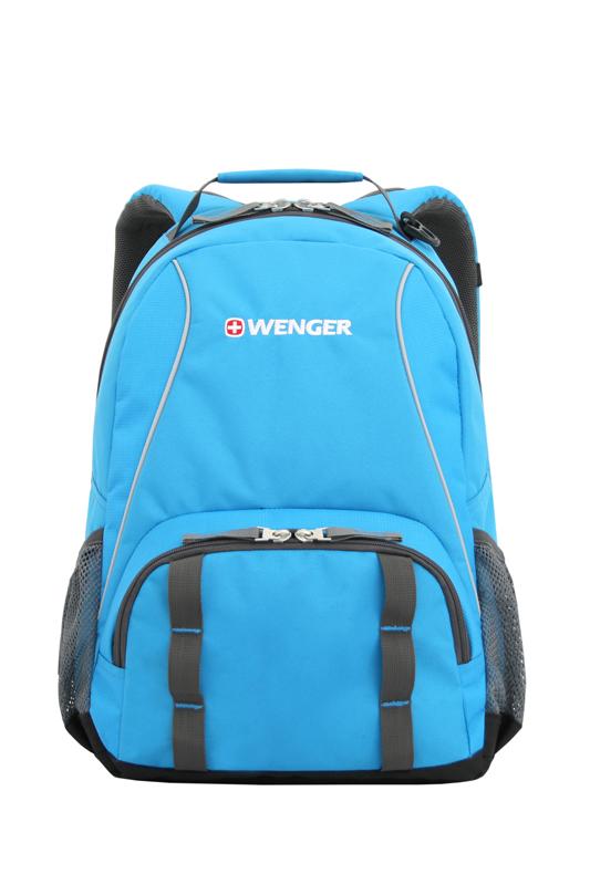 Рюкзак Wenger 12903415 голубой/серый 20 л