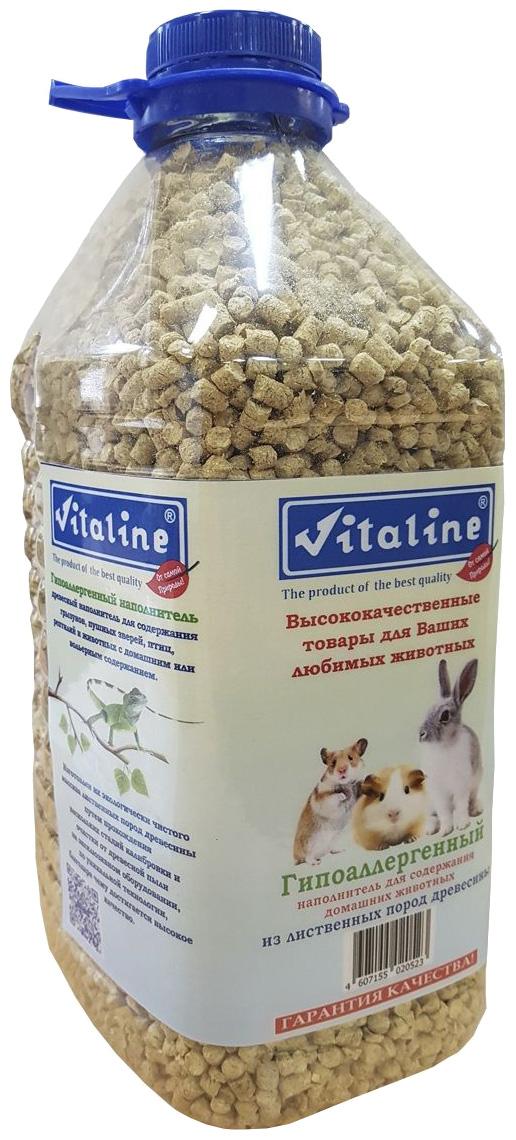 Древесный наполнитель для туалета Vitaline Гипоаллергенный