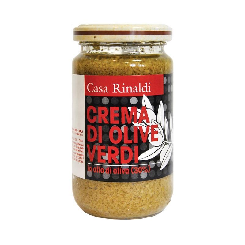 Крем-паста Casa Rinaldi из оливок в оливковом масле 180 г