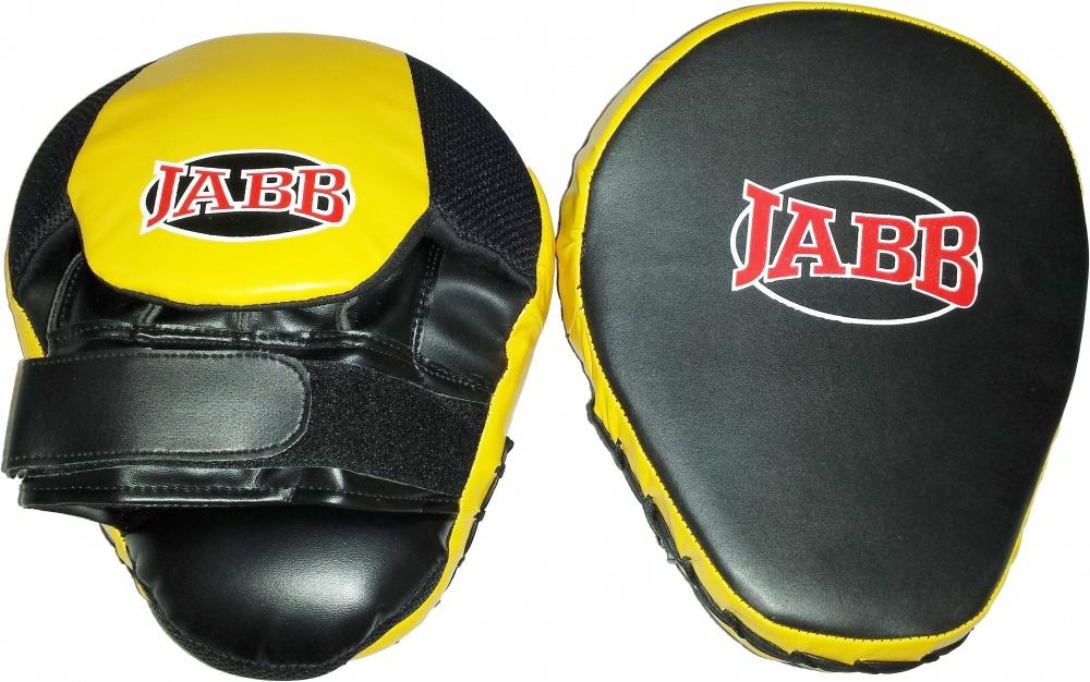 Боксерские лапы Jabb JE 2190 черно желтые