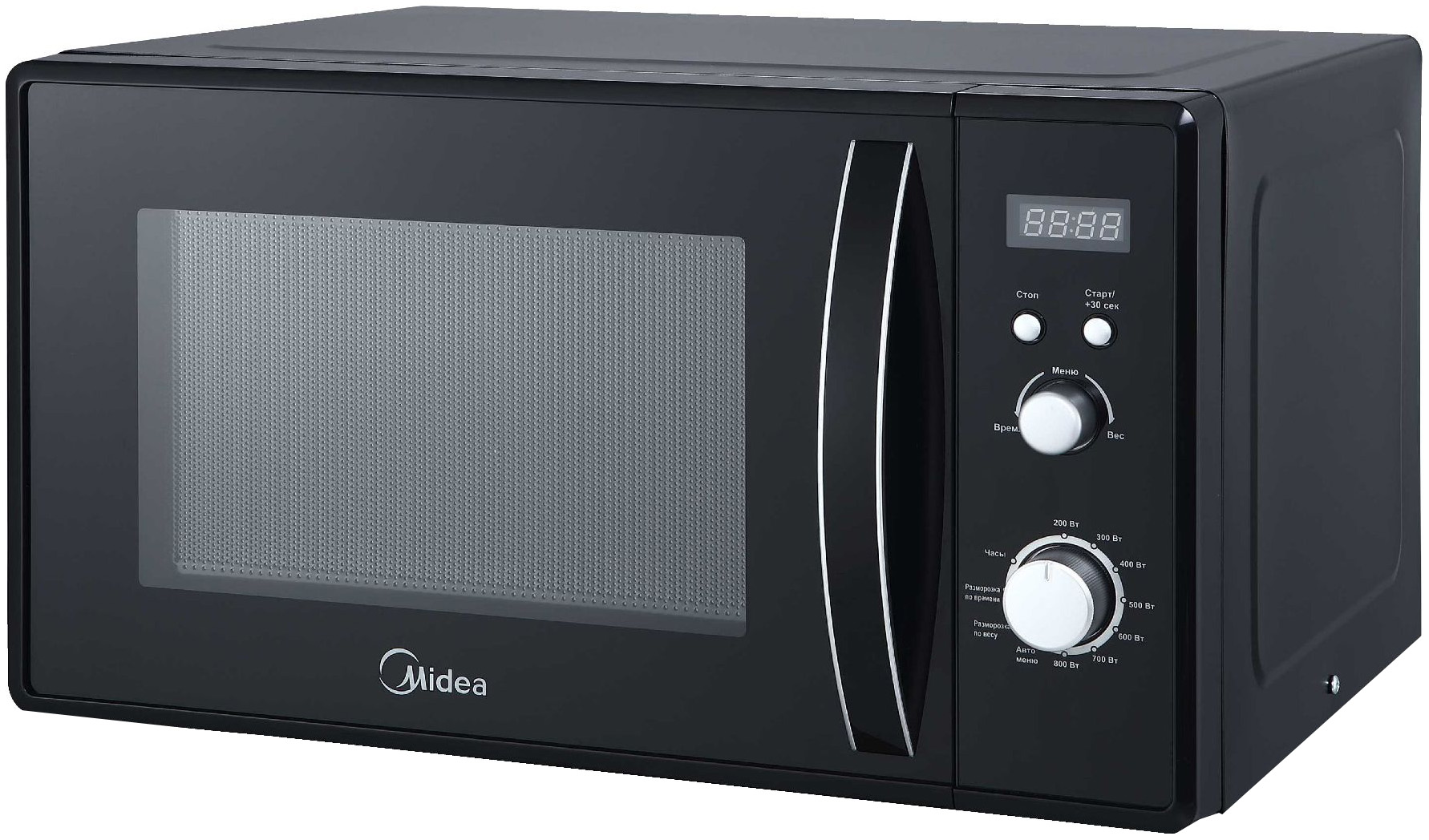 Микроволновая печь соло Midea AM823AM9-B black фото