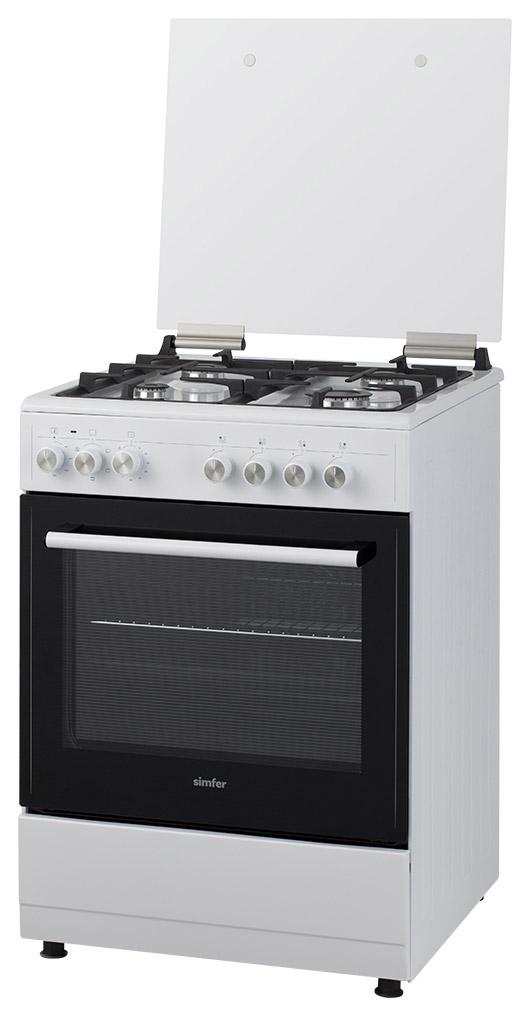 Комбинированная плита Simfer F66EW45017 White