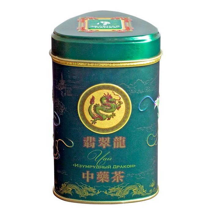 Чай Зеленая Панда изумрудный дракон крупнолистовой 45 г