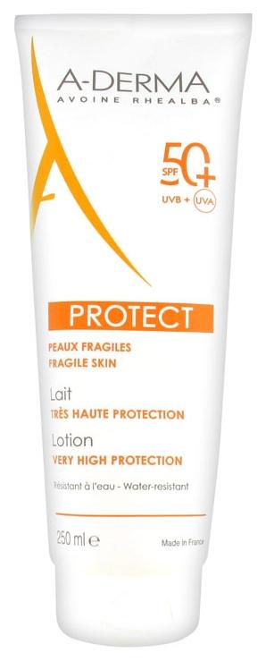 Солнцезащитный лосьон A Derma Protect Lait Tres