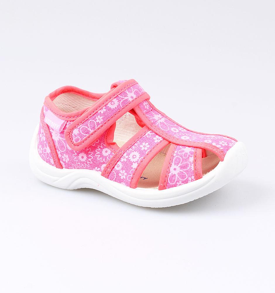 Текстильная обувь Котофей 221042-12 для девочек р.25, Детские сандалии  - купить со скидкой