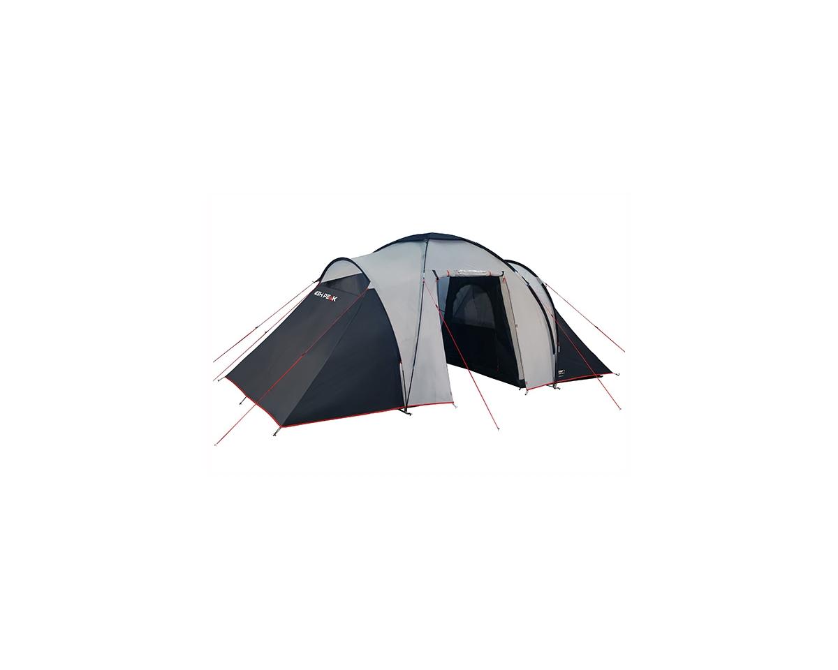Палатка High Peak Como четырехместная серая/черная