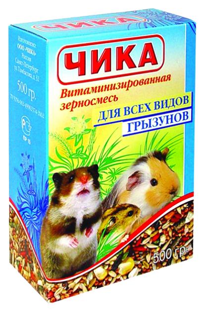 Корм для грызунов Чика витаминизированная смесь