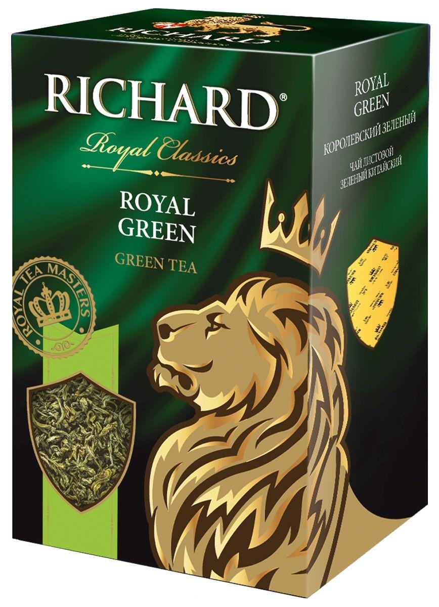 Чай зеленый Richard royal green листовой 90 г фото