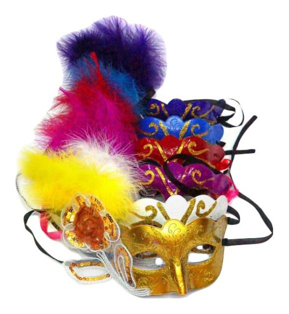 Купить Маска Новогодняя сказка 972560 в ассортименте, Карнавальные головные уборы