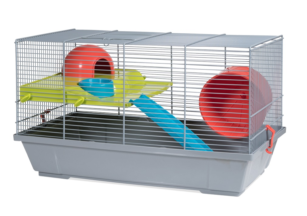 Клетка для крыс, морских свинок, мышей, хомяков Voltrega 29х28х50.5см