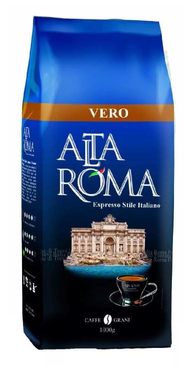 Кофе Alta roma vero зерновой 1 кг