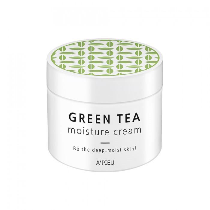 Крем для лица увлажняющий A'PIEU Green Tea Seed