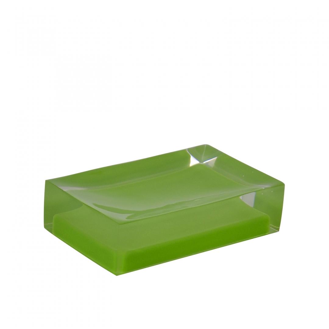 Мыльница Colours зеленый