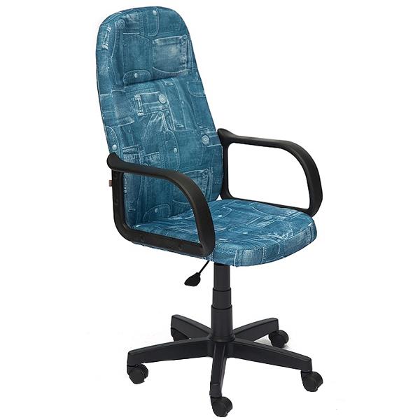 Офисное кресло TetChair Leader, джинса