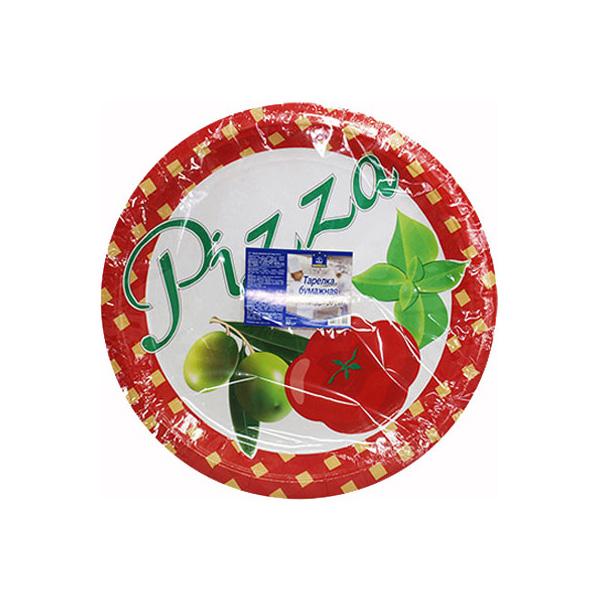 Набор одноразовых тарелок Horeca Select Для пиццы