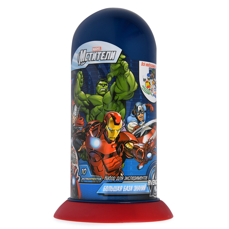 Купить Набор для проведения экспериментов Marvel Мстители: Большая база знаний, Наборы для опытов