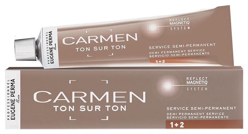 Краска для волос Eugene Perma Carmen Ton Sur Ton 6*44 Блондин интенсивно-медный