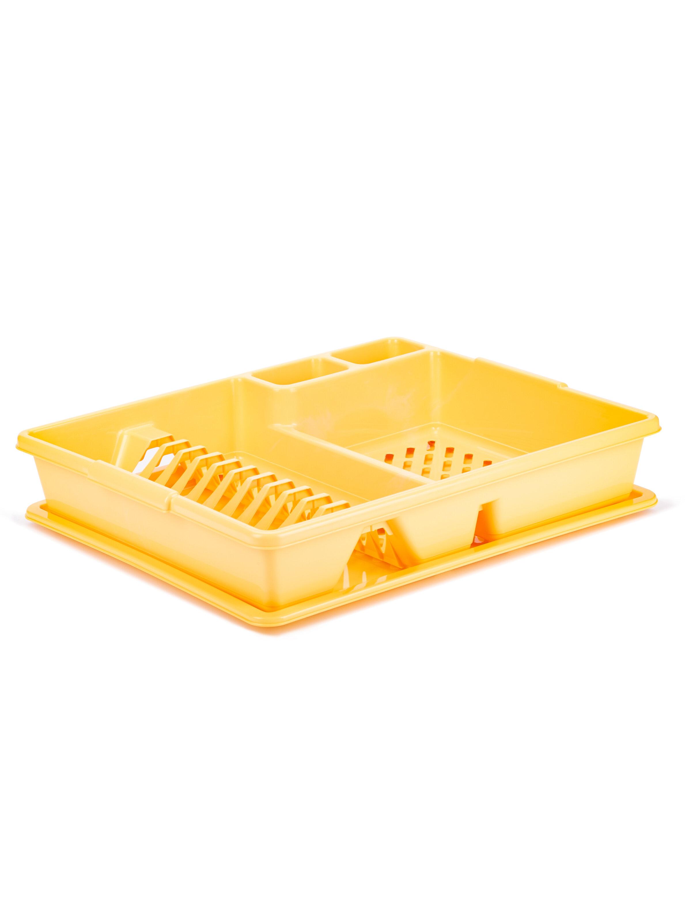 Сушилка для посуды Curver Желтый