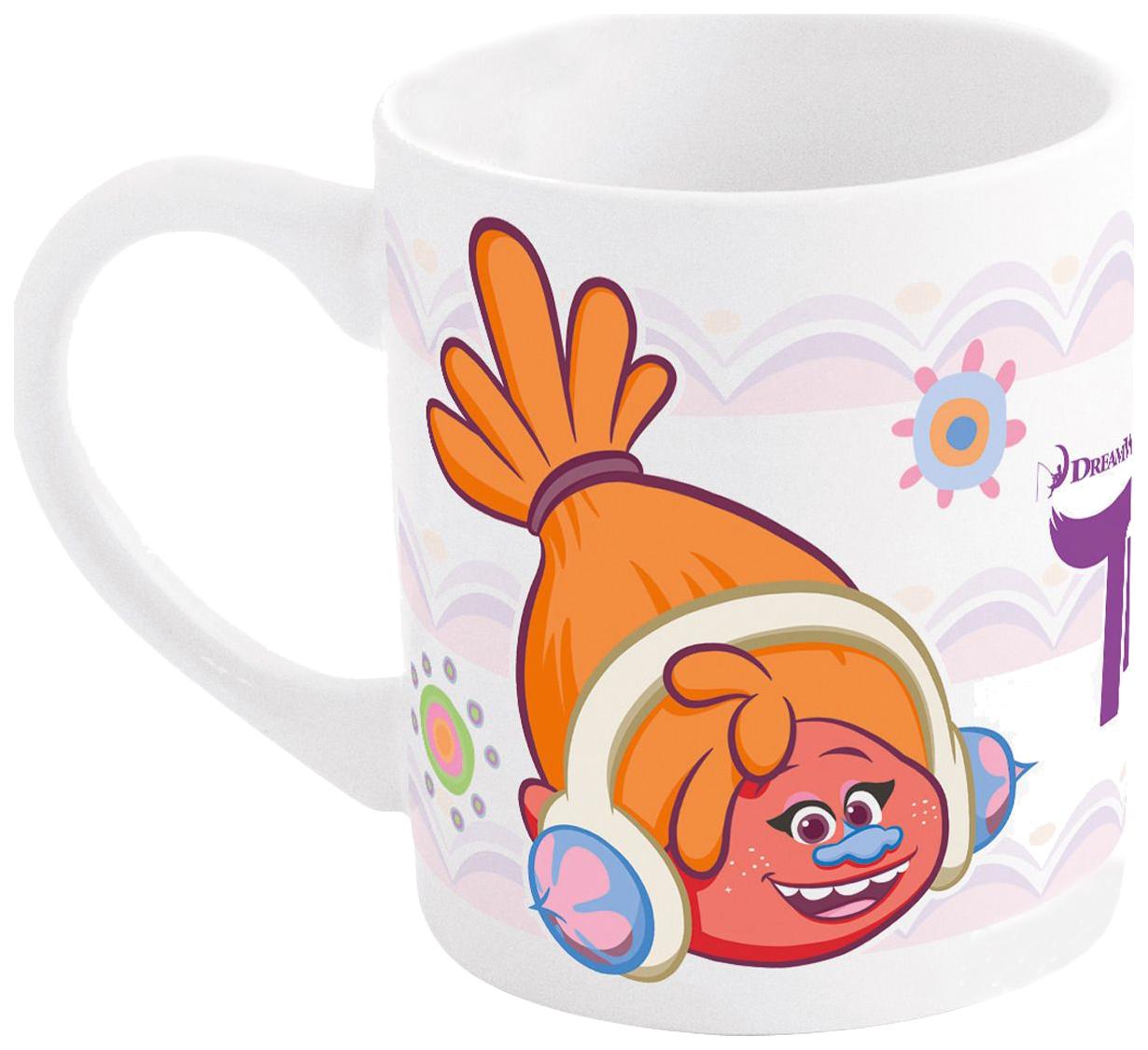 Чашка детская Stor DreamWorks Trolls 41326 керамическая