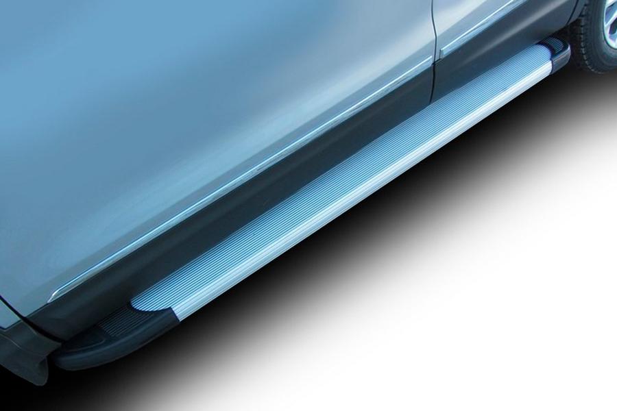 Комплект алюминиевых порогов Arbori Optima Silver 1700