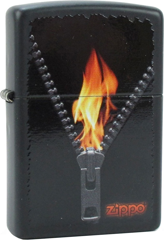 Бензиновая зажигалка Zippo №28309 Black Matte