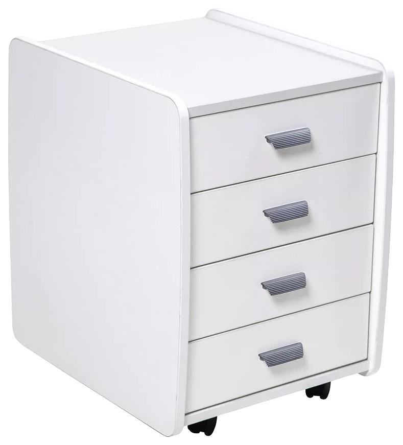 Тумба Астек 4 ящика (цвет товара: белый)
