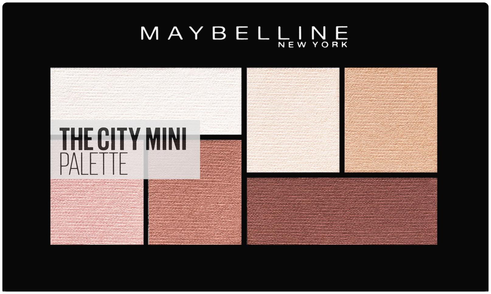 Тени для век Maybelline The City Mini