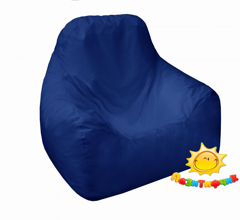 Кресло-мешок Pazitif Пазитифчик Оксфорд, размер L, оксфорд, синий фото