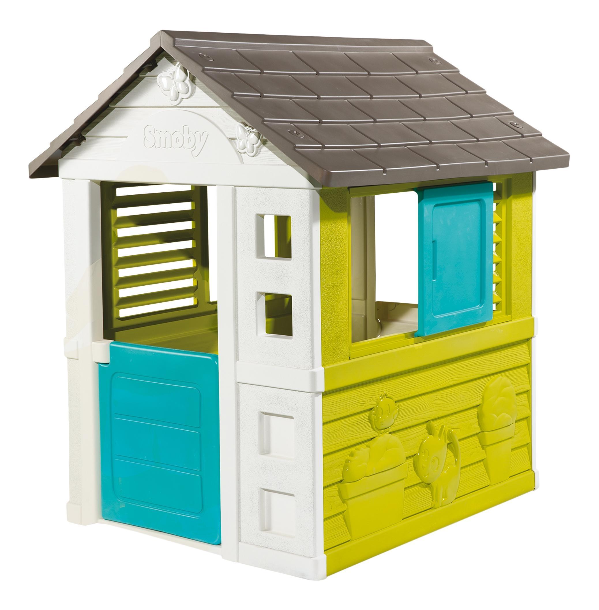 Купить Игровой домик, bg, 98*111*127см, 1/1, Smoby, Игровые домики