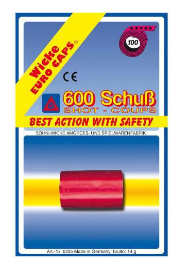Пистоны Sohni Wicke 100 зарядные 600