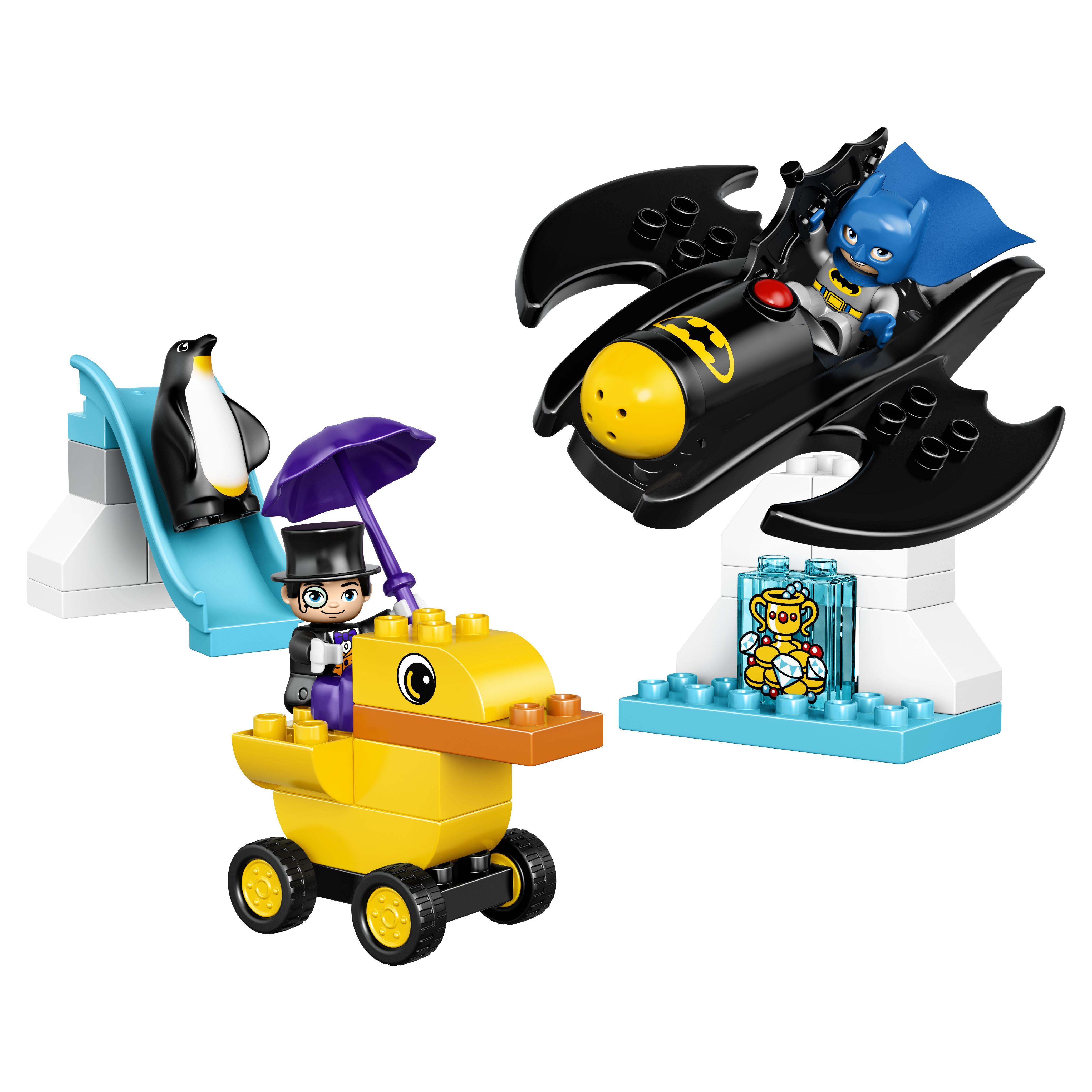 Конструктор LEGO Duplo Super Heroes Приключения на Бэтмолёте (10823) фото