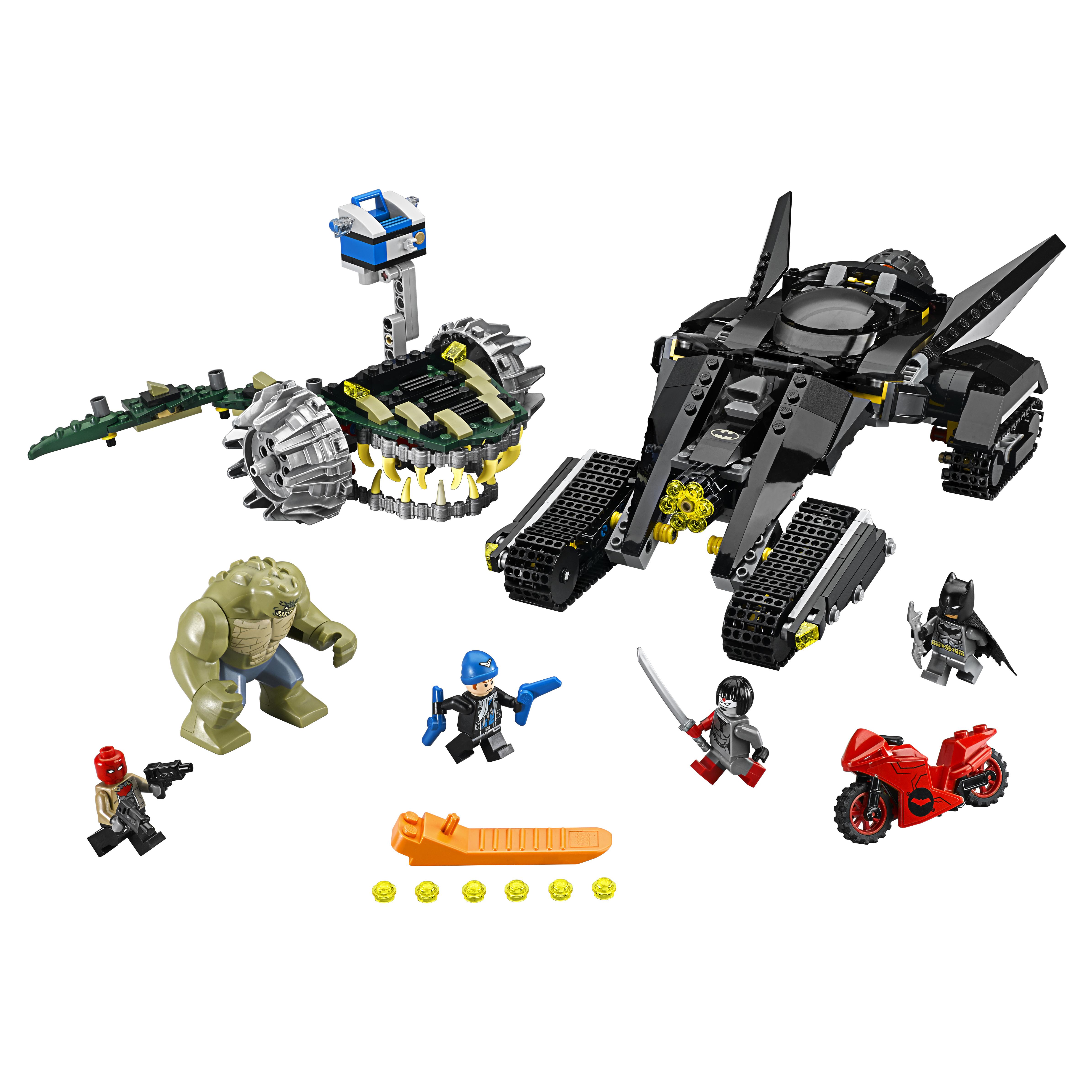 Конструктор LEGO DC Comics Super Heroes Бэтмен:убийца Крок (76055) фото