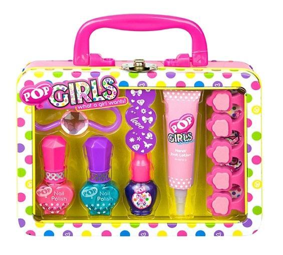 Купить POP Набор детской декоративной косметики для ногтей, Markwins 3600651 pop набор детской декоративной косметики для ногтей, Наборы детской косметики