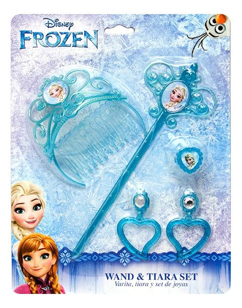 Купить Холодное сердце, Набор украшений принцессы: холодное сердце; с волшебной палочкой 82582, Disney, Наборы украшений для девочек
