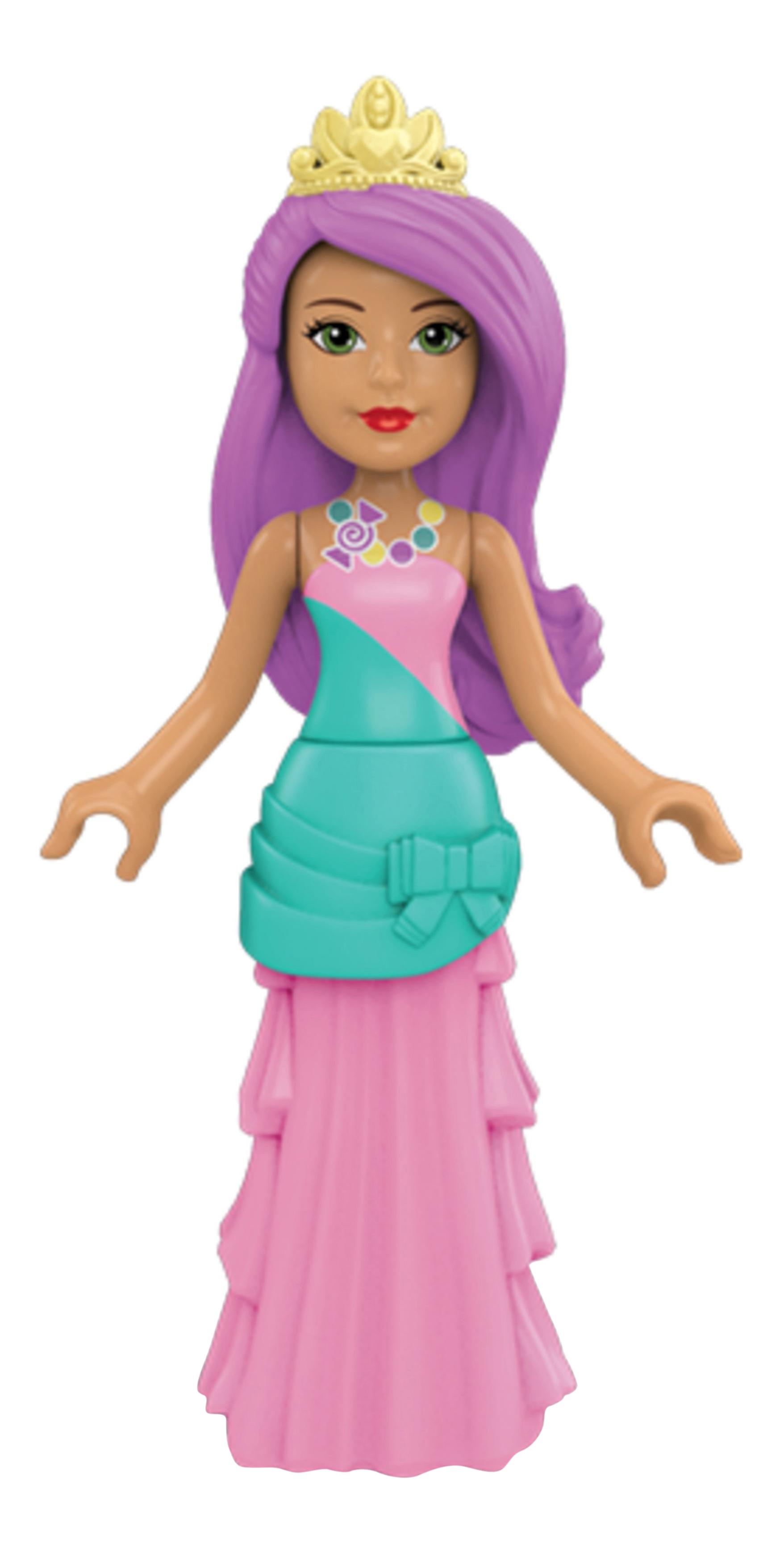 Купить Sweetville Candy Princess, Конструктор Mega Construx™ Barbie® Конфетная принцесса DPK90 DPK91, Конструкторы пластмассовые