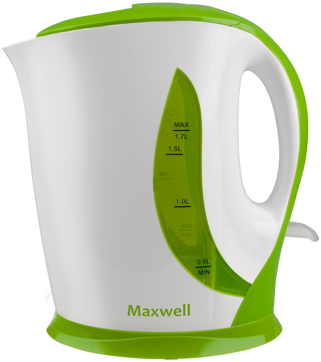 Чайник электрический Maxwell MW 1062 White/Green