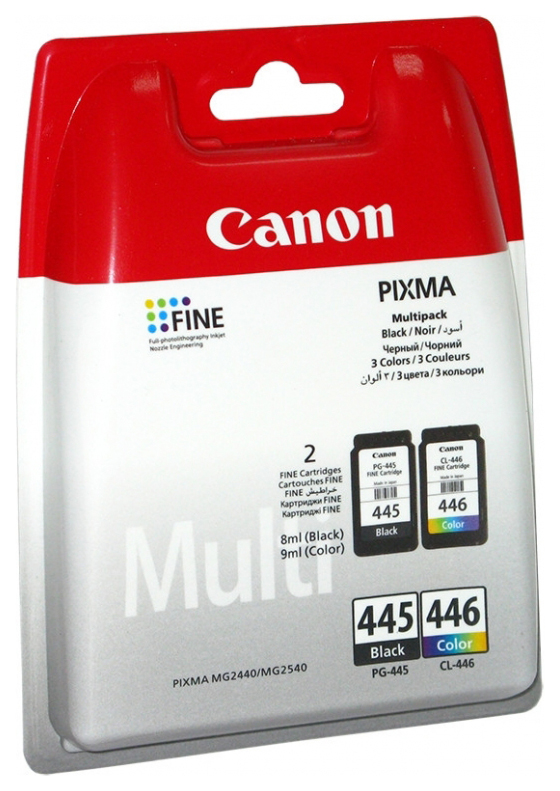 CANON PG-445. CL-446