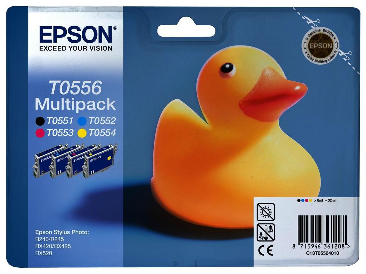 Epson Original Epson [T05564010] для Epson RX520/R240 Black + Color фото