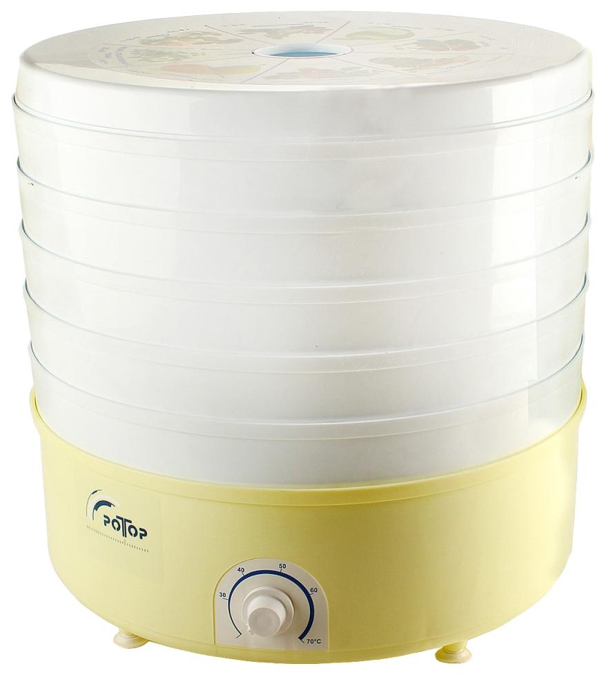 Сушилка для овощей и фруктов Ротор СШ-002-06 yellow