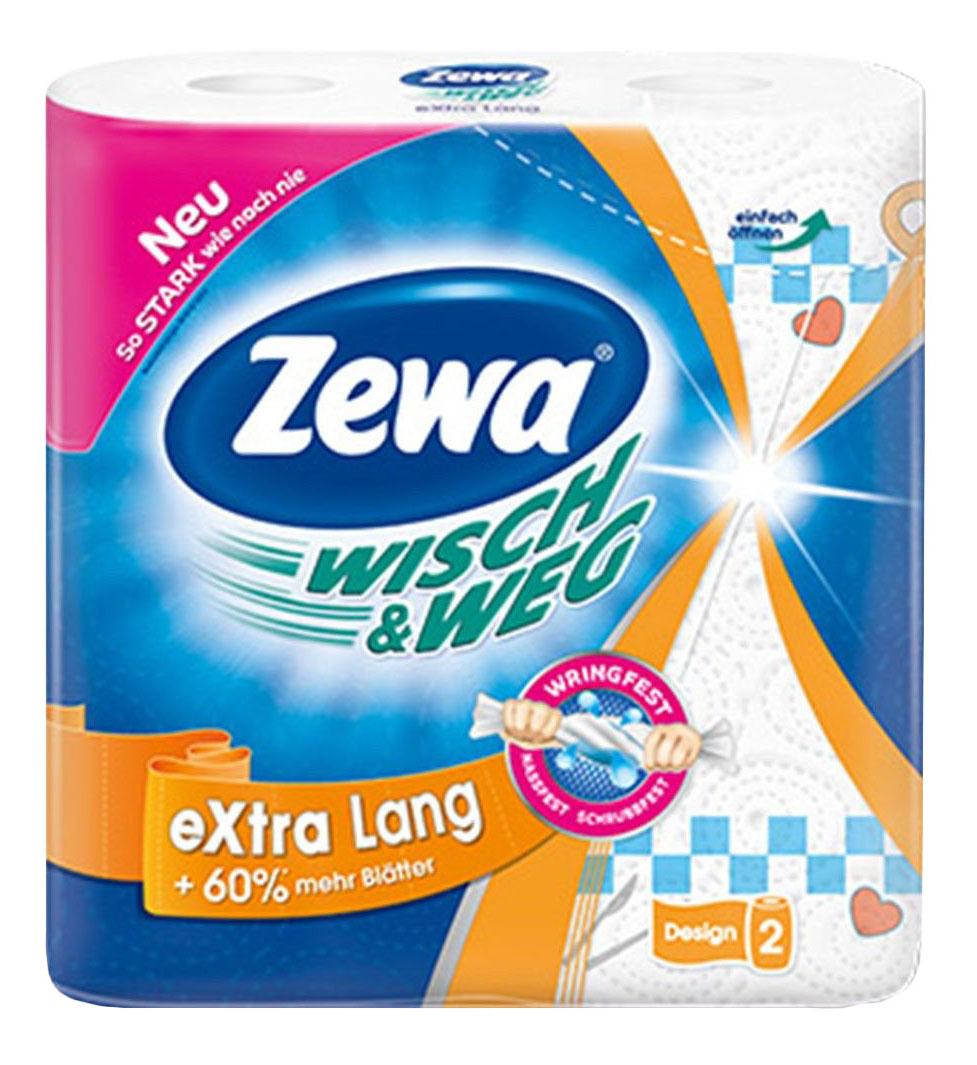 Бумажные полотенца Zewa wisch&weg 2 штуки