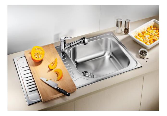 Мойка для кухни из нержавеющей стали Blanco TIPO XL 6 S 511908 серебристый