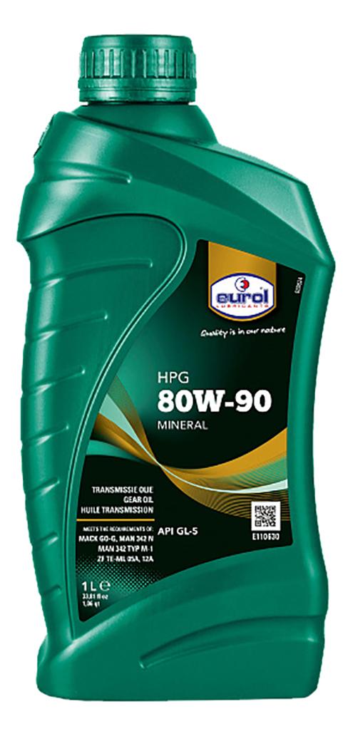 Трансмиссионное масло Eurol HPG 80W90 1л E1106301L